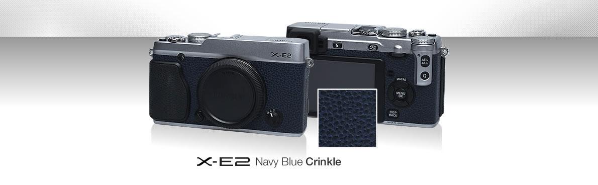 -XE2 Navy Blue Crinkle