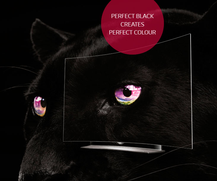 Perfect black creates perfect colour