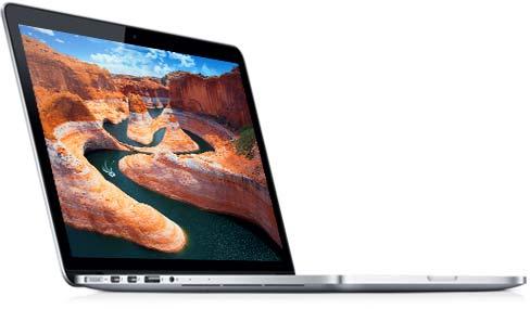 MacBook Pro with retina display