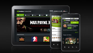TEGRA ZONE - THE DESTINATION FOR MOBILE GAMERS