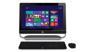 how to connect additional monitors to hp touchsmart