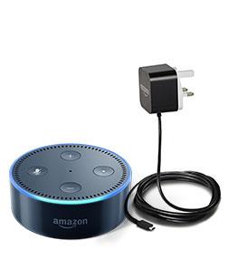 Plug in Amazon Echo Dot