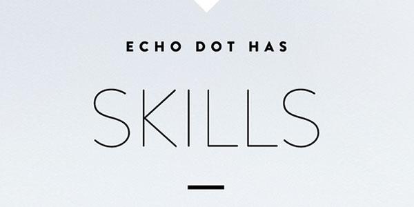 Amazon Echo Dot has skills
