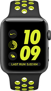 Apple Watch Nike+ with exclusive watch faces