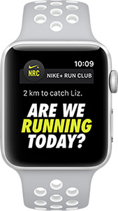 Apple Watch Nike+ get motivated