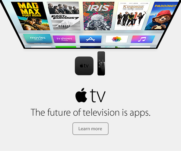 Apple TV - The future of television is apps