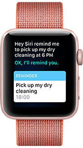 Apple Watch ask Siri