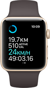 Apple Watch with built in GPS
