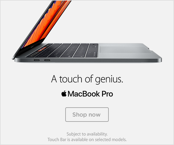 MacBook Pro - A touch of genius
