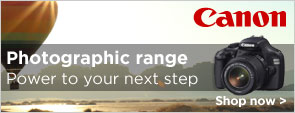 Canon photographic range