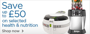 Save up to £50 on selected health and nutrition