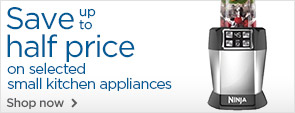 Half price on selected small kitchen appliances