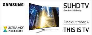 Samsung SUHDTV Range