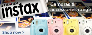 Fujifilm Instax cameras & accessories