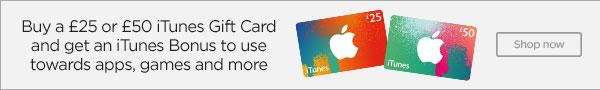 Get an Apple iTunes Gift Card