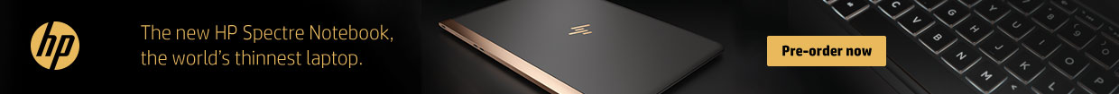 Pre-order the new HP Spectre notebook