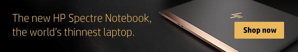New HP Spectre Notebook