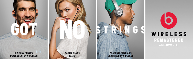 Beats Got No Strings Wireless Headphones