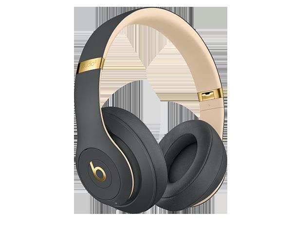 Low Cost Novelty Travel Portable On-Ear Foldable Headphones Om Aum Namaste Symbol - Purple