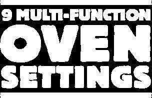 Multifunction Oven Settings