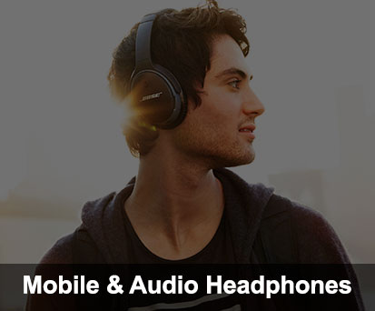 mobile and audio headphones