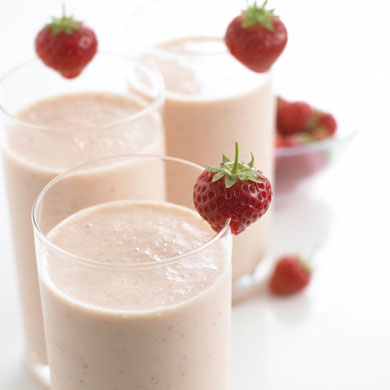 Strawberry & Banana Milkshake