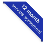 12 month service agreement