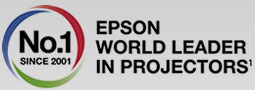 Epson number 1 in Projectors