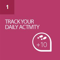 Track steps