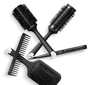 GHD hair brushes