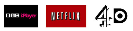 Catch up tv logos