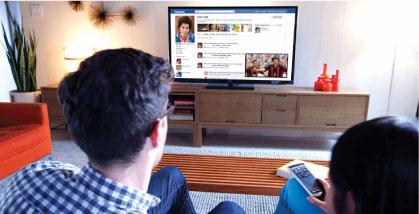Google chrome on google tv