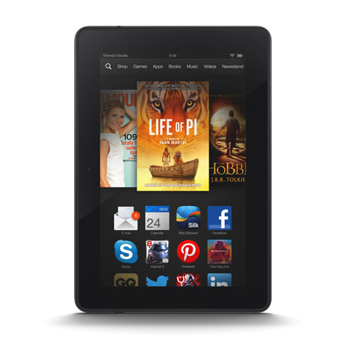 Kindle fire HD landscape