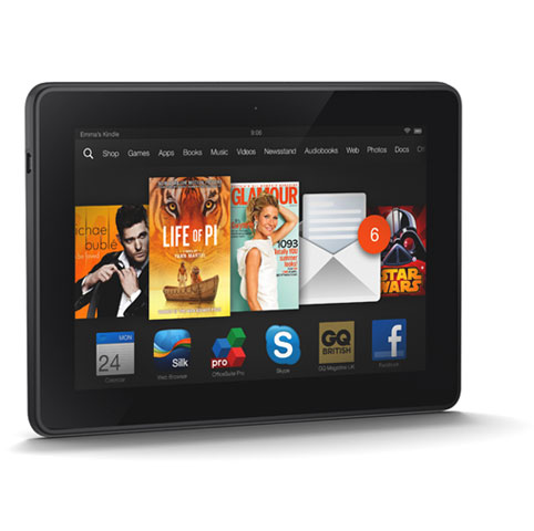 Kindle fire HD portrait