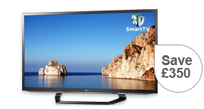 LG 47inch Smart 3D Full HD LED TV