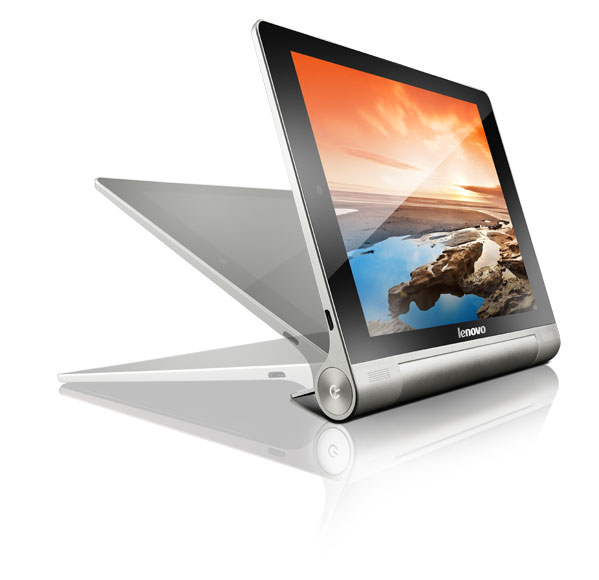 Stand, Tilt hold the Lenovo Yoga