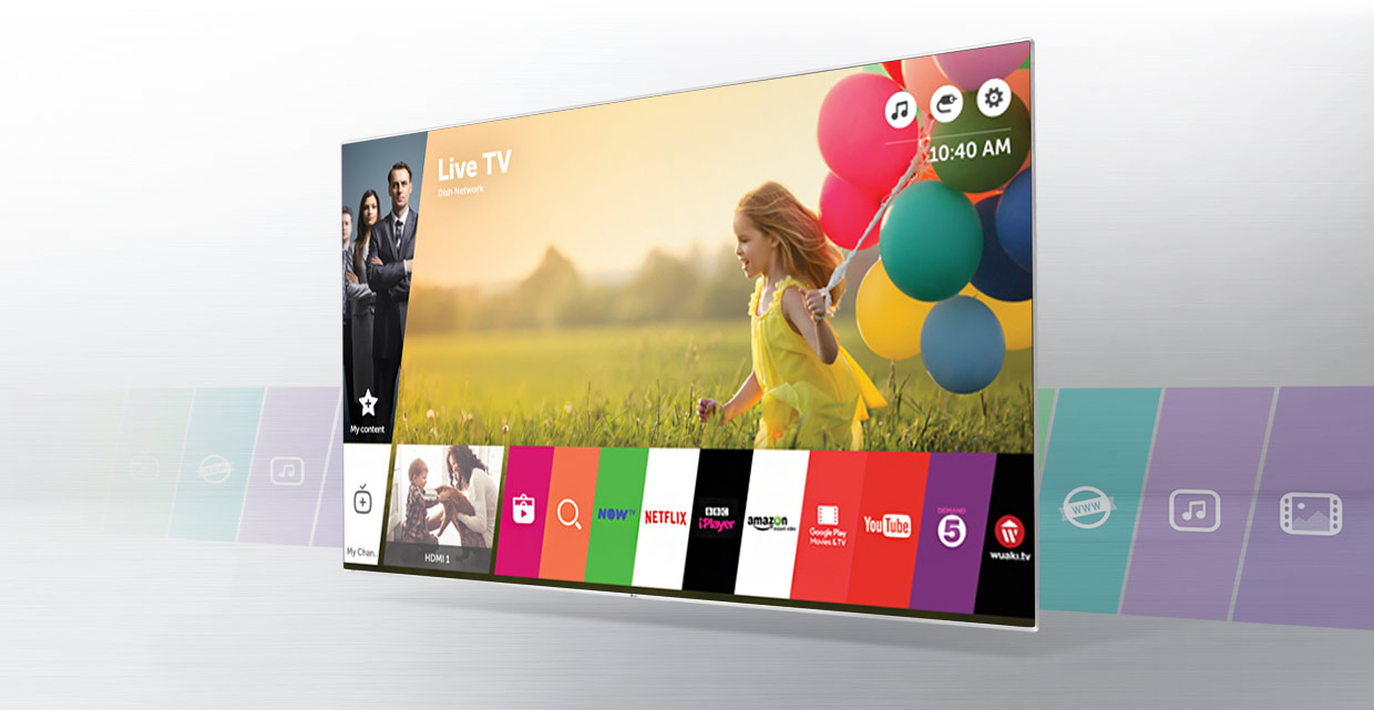 LG TVs with Smart webOS