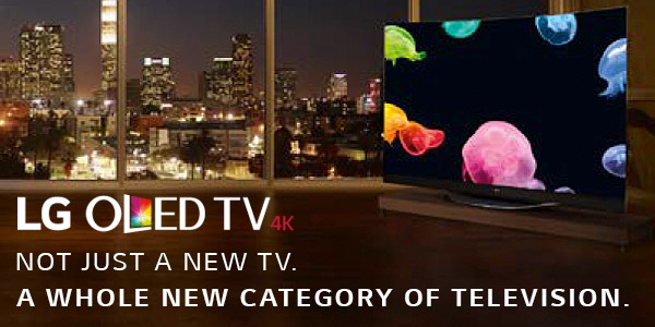 View the range of LG Oled TVs