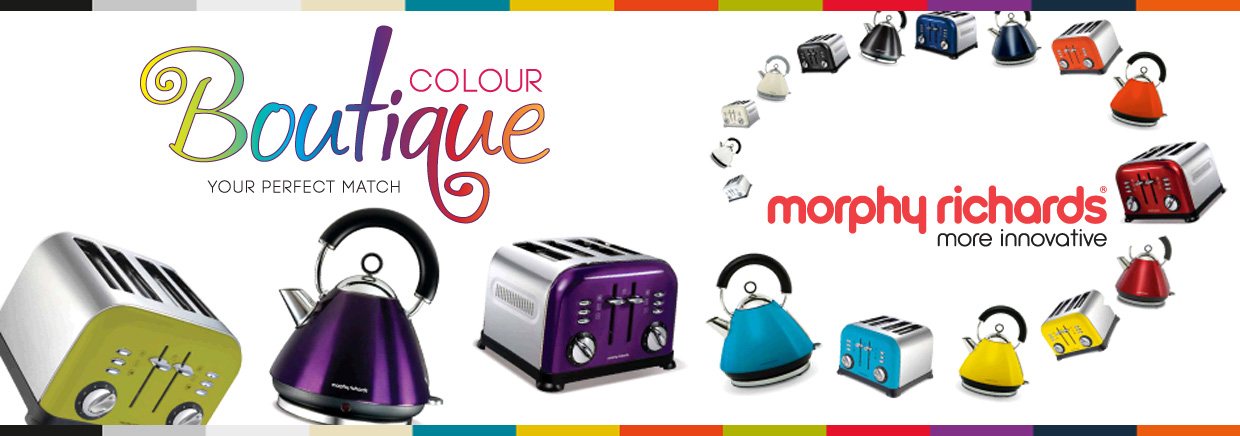 Morphy Richards Kettle And Toaster Colour Boutique Currys