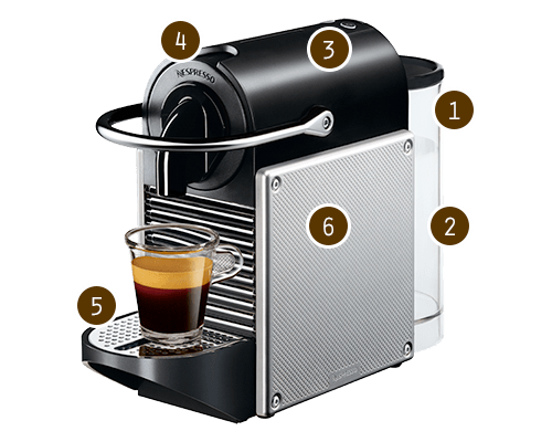 Nespresso Pixie Coffee Maker Currys