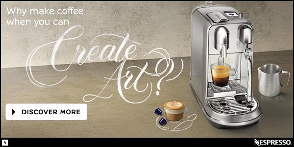 Nespresso Creatista Machines