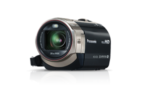 Panasonic camcorders
