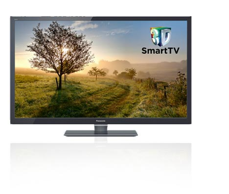 Connect on a panasonic smart viera
