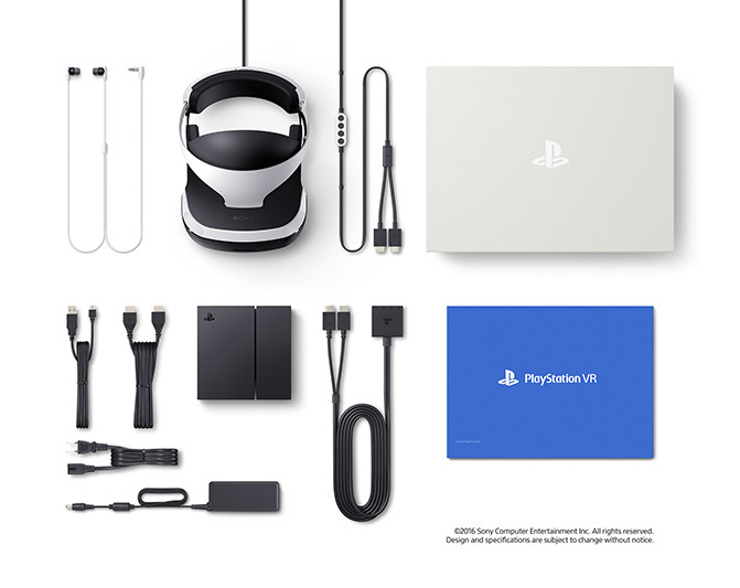 Playstation VR - What is included