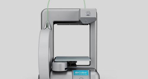 Cubify printer