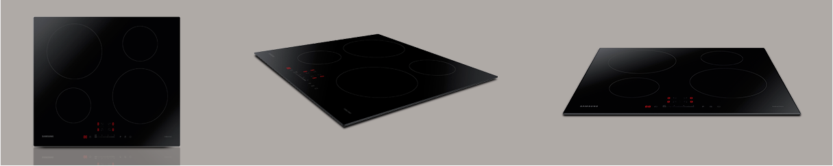 Samsung NZ64H37070K Induction Hob