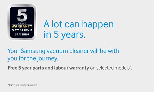 warranty vacuum