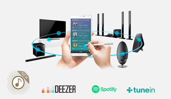 Samsung Multiroom apps