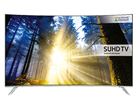 Samsung KS7500 Curved SUHD Quantum dot TV