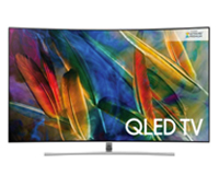 SAMSUNG QE65Q8CAMT 65 Smart 4K Ultra HD HDR Curved QLED TV